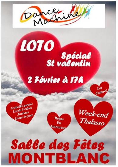 Affiche loto 2 fev 2020